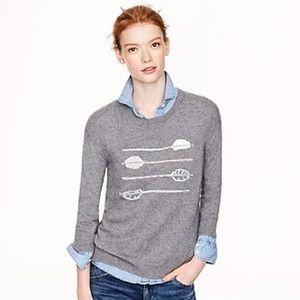 J. Crew Arrows Sweater